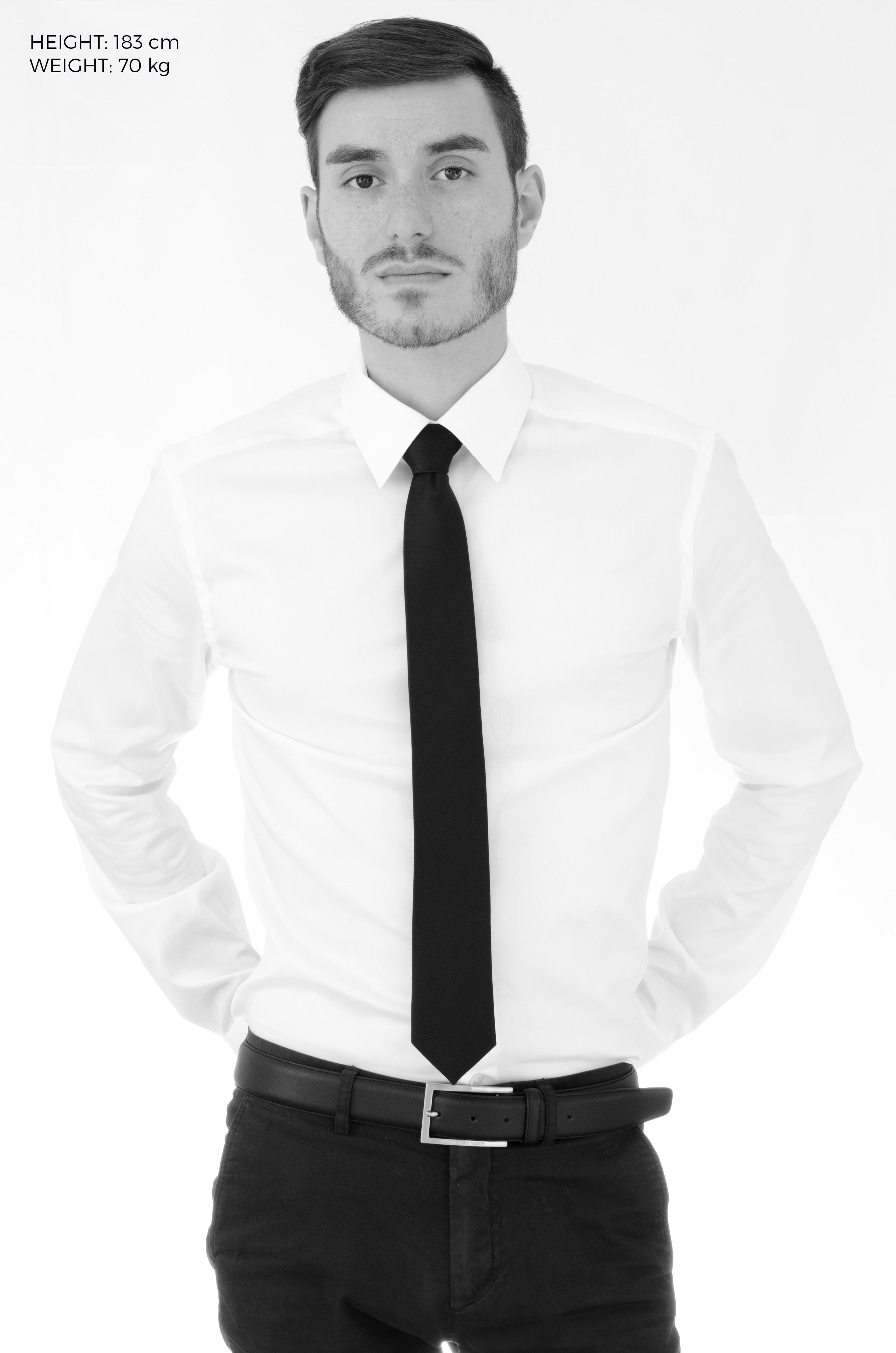 svart slips bröllop
