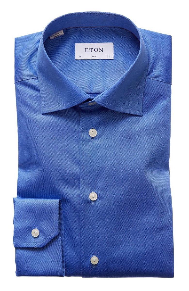 Eton skjorta blå. Köp blå skjortor från Eton online  17e2c83600c3e