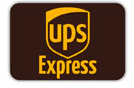 We deliver with UPS Express, 1 day delivery