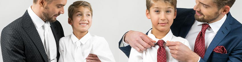 Kinder tragen vorrangig bei Hochzeiten, Taufen und Beerdigungen sowie bei anderen Anlässen.