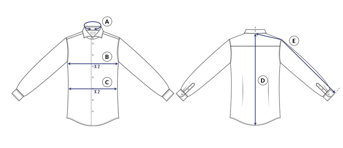 Välj Rätt Storlek Och Passform På Skjortan Skjortguide