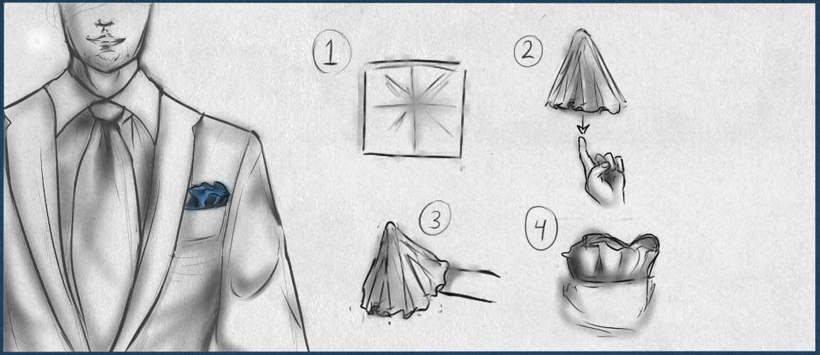 Lär dig vika näsduk - Enkel guide