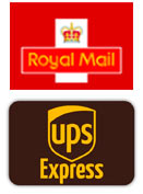 Royal mail, UPS express