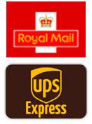 Royal mail, UPS express