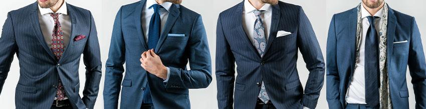 Grundsätzlich gilt: tragen Sie einen Anzug, können Sie immer eine Krawatte verwenden.