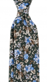 Slips Floral 6 cm | Green Blue