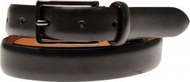 Leather Belt | Classic Black | Oscar Jacobson