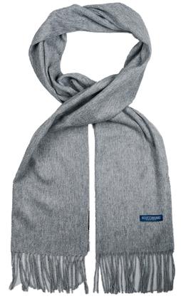 Kashmir halsduk i grått från Scottsberry 5b21c09451547