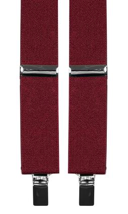 Extra långa hängslen i färg vinrött från Neckwear 5a99ee068f