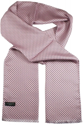Sidenscarf Pink Small Paisley