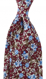 Slips Floral 8 cm | Burgundy Blue