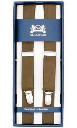 Ljusbruna hängslen tillverkade i 100 % polyester 70fa73e990