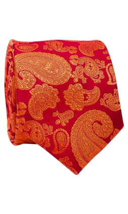 Slips 6 cm - Jacquard Orange