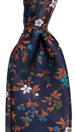 Herrslips i 100% siden med blommönster från Neckwear 09abfd8635