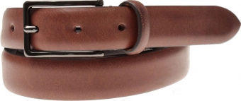 Leather Belt | Classic Dark Brown | Oscar Jacobson