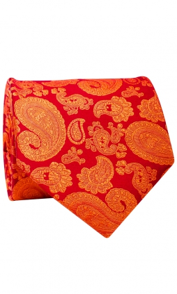 Slips 8 cm - Jacquard Orange