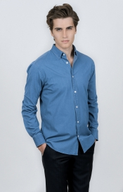 Denimskjorta | Donald 3 | Slim Fit
