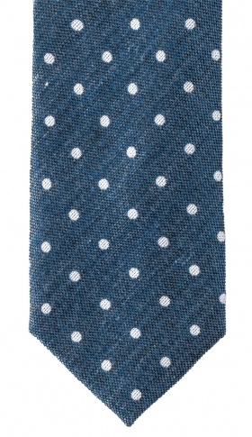 Slips Blend Dots 6 cm | Denim