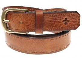 Morris Leather Belt Classic - Brown
