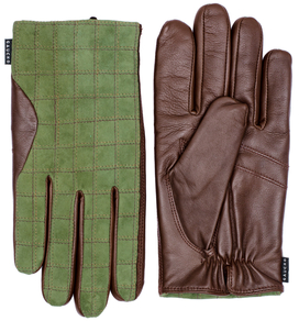 Gregor Glove Green/Chestnut