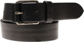 Leather Belt | Black | Morris Stockholm