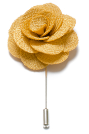 Lapel Flower Pin - Gul