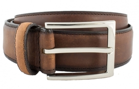 Leather Belt Dk.Brown