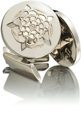 Tudor Rose Silver White