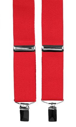 Extra långa hängslen herr i rött från Neckwear 8eea9db9a0